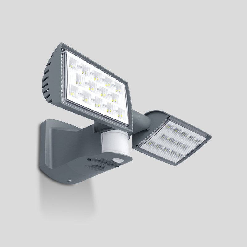 Прожекторный светильник с датчиком движения